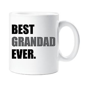 Bästa farfar någonsin mugg grå