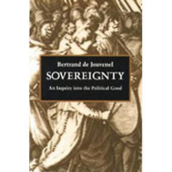 Sovereignty by Bertrand de Jouvenel & J. F. Huntington