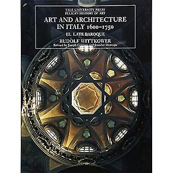 Konst och arkitektur i Italien, 1600-1750, volym 3: sena barocken och rokokon, 1675-1750