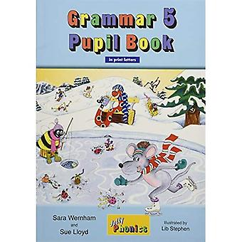 Grammar 5 Pupil Book (in Print Letters) (Jolly Phonics)