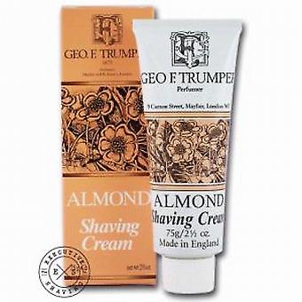Geo F Trumper Almond Shaving Cream Tube 75g