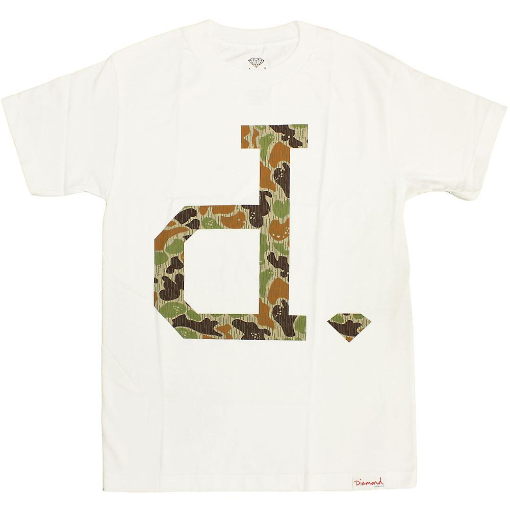 Diamond Supply Co. ONU Polo pluie Camo T-shirt blanc