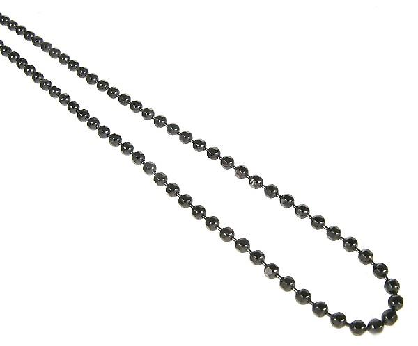 Cavendish French Sterling Silver Black Rhodium Plated Fine Chain