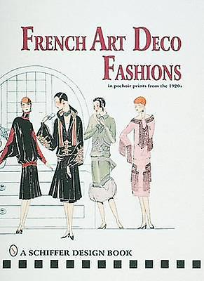 French Art Deco Fashions in Pochoir Prints from the 1920s by Alison L