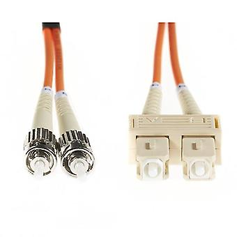 3M SC St Om1 multimode Fiber Optic kabel oranje