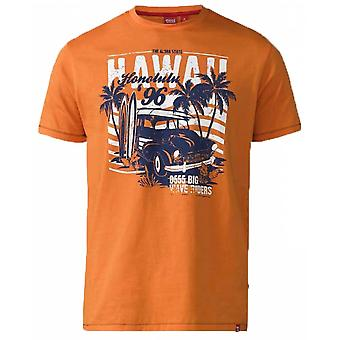 Duke Hawaii Honolulu Print Fashion T-Shirt