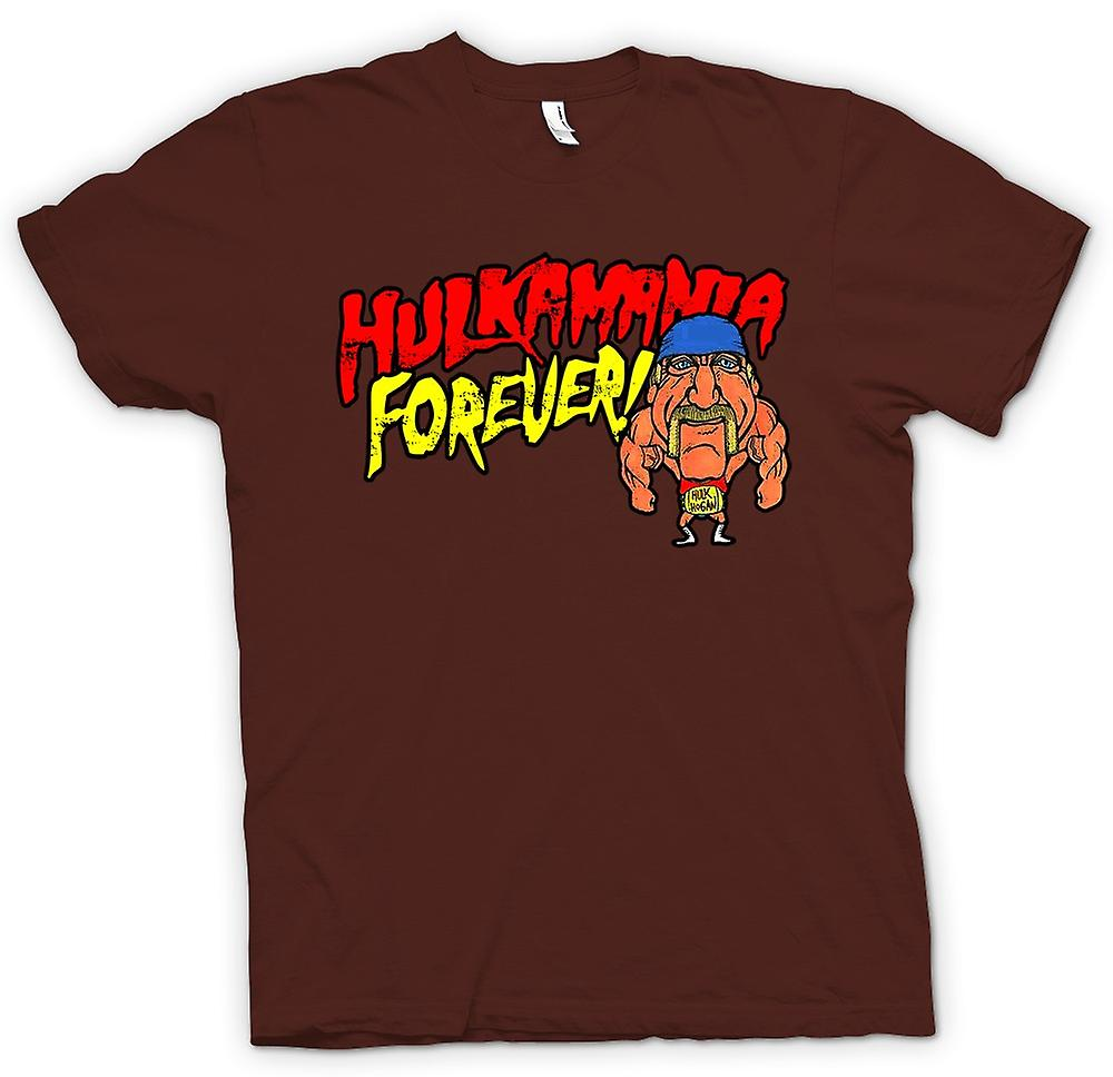 Herr T-shirt - Hulkmania Forever - Hulk Hogan Cartoon