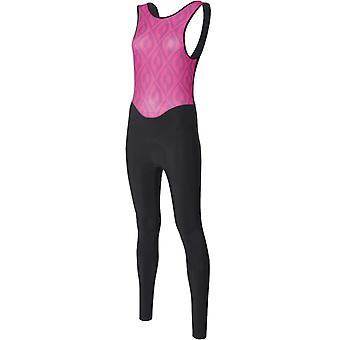 Santini Fuxia 2018 Fashion Coral Womens Bib Pants