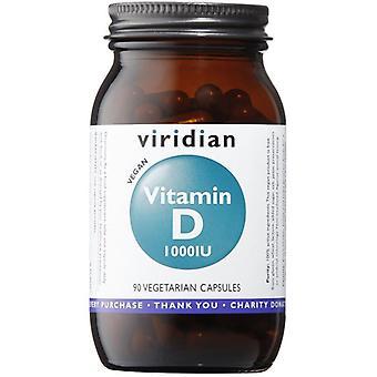 Viridian Vitamin D3 (Vegan) 1000iu Veg Caps 90 (271)