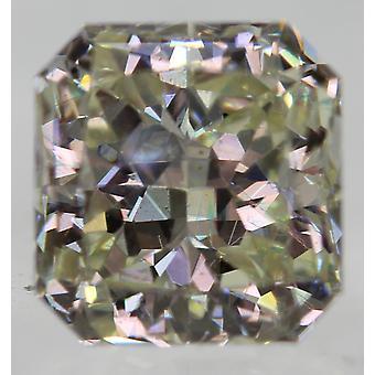 Zertifiziert 1.10 Karat J VVS2 Radiant Enhanced Natural Loose Diamond 6.01X5.72mm