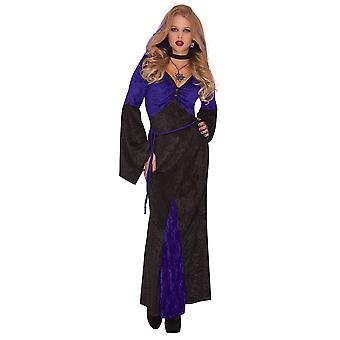 Womens Meesteres van verleiding Halloween fancy dress kostuum