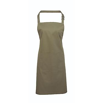 Premier colours bib apron with pocket pr154