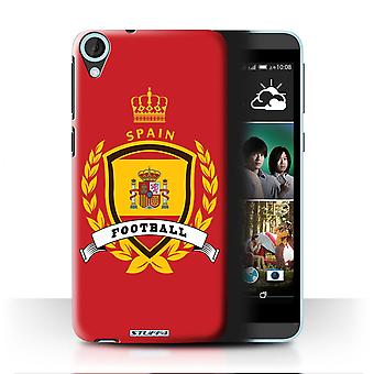 STUFF4 Case/Cover for HTC Desire 820s Dual/Spain/Spanish/Football Emblem