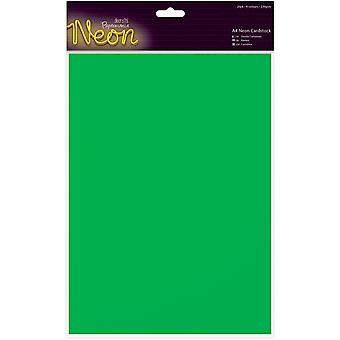 Papermania A4 Neon Cardstock 20/Pkg-  PM164502