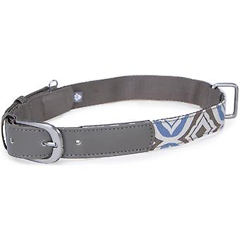 Geliefden Fashion Dog Collar W/Tag demper - Extra klein-blauw-85003