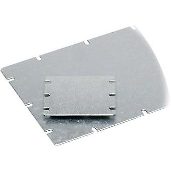 Mounting plate (L x W) 98 mm x 48 mm Steel plate Light grey Fibo