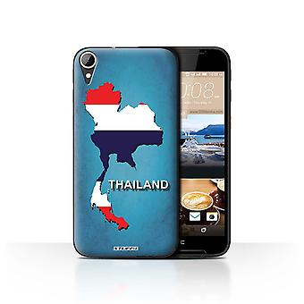 STUFF4 Case/Cover for HTC Desire 830/Thailand/Thai/Flag Nations