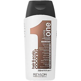 Revlon Professional - UNIQ ONE CONDITIONING SHAMPOO COCONUT- Shampoing Soin Noix de Coco 300ml