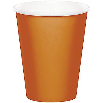 Paper Hot & Cold Cups 9oz 24/Pkg-Pumpkin Spice HCC-3394