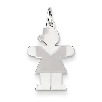 Sterling Silver Hugs Kid Charm - .6 Grams