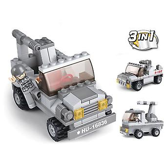 Sluban Army 3 In 1 Missile Launcher 102 Pieces