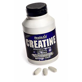 Health Aid Creatine Monohydrate 1000mg ,  60 Tablets
