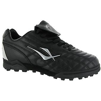 Mirak Forward Astro Turf Unisex Football Rugby Boots Black Sports Footwear Shoes