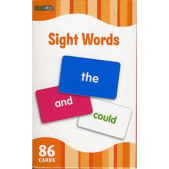 Sight Words (Flash Kids Flash Cards) (Cards) by Flash Kids Editors Flash Kids Editors