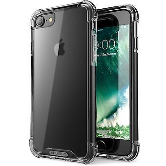 Apple iPhone 7 Case,i-Blason- Shockproof Case,, Apple iPhone 7 Case-Black