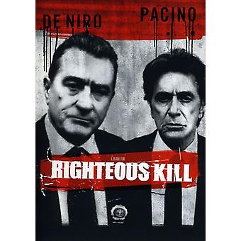 Righteous Kill [DVD] USA import