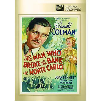 Man Who Broke the Bank at Monte Carlo [DVD] USA import