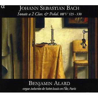 J.S. Bach - Johann Sebastian Bach: Sonate a 2 Clav. & Pedal, Bwv 525-530 [CD] USA import