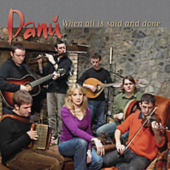 Danu - When All Is Said & Done [CD] USA import