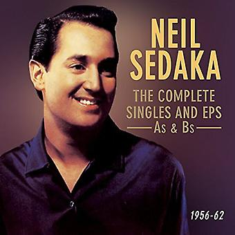 Neil Sedaka - Neil Sedaka: Sedaka Neil-Complete Us Sin [CD] USA import