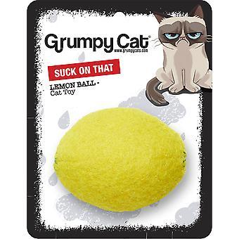 Mürrische Katze Katze Spielzeug Lemon Ball 6cm
