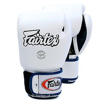 Fairtex Boxing Gloves 3 Tone - White