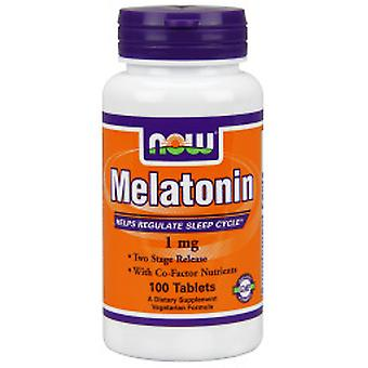 Now Melatonin 1 mg 100 Comprimidos