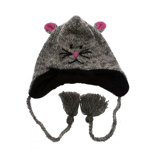 W.A.T Knitted Woollen Mouse Animal Hat