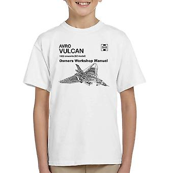 Haynes Besitzer Workshop manuelle Avro Vulcan 1952 B2 Kinder T-Shirt