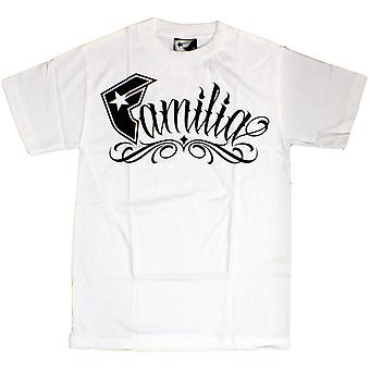 Famous Stars and Straps Familia T-shirt White Black