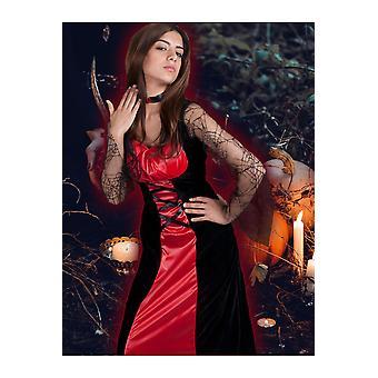 Kvinnor kostymer kvinnor Halloween Lady Crudella vampyr
