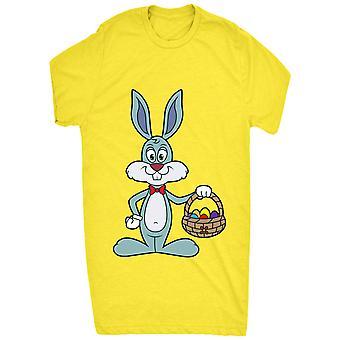 Coniglietto di Pasqua blu sveglio rinomato