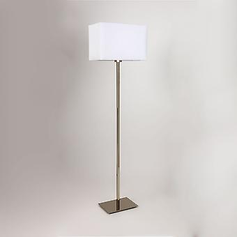 Astro Park Lane Floor Lamp,w/o Shade, Polished Nickel Fi