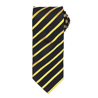 Premier Mens Sports Stripe Pattern Formal Work Tie