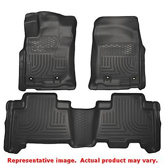 Husky Liners 99571 Black WeatherBeater Front & 2nd Seat FITS:LEXUS 2014 - 2014