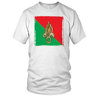 Flag Of French Foreign Legion Ladies T Shirt