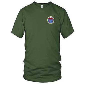US Navy CV-41 USS Midway Battle Group Alfa gestickt Patch - Kinder T Shirt