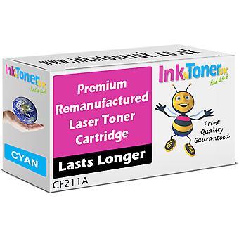 Remanufactured 131A Cyan CF211A Toner for HP LaserJet Pro 200 M276