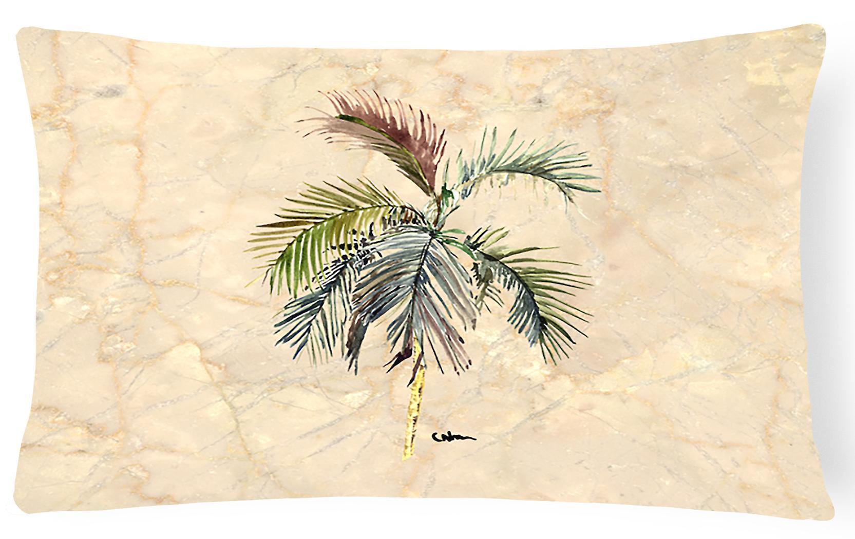 Tissu Palm Oreiller Carolines Trésors Tree 8483pw1216 Décoratif Toile oWrxdCeB
