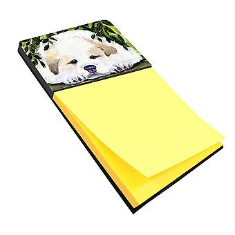 Golden Retriever Refiillable Sticky Note Holder or Postit Note Dispenser
